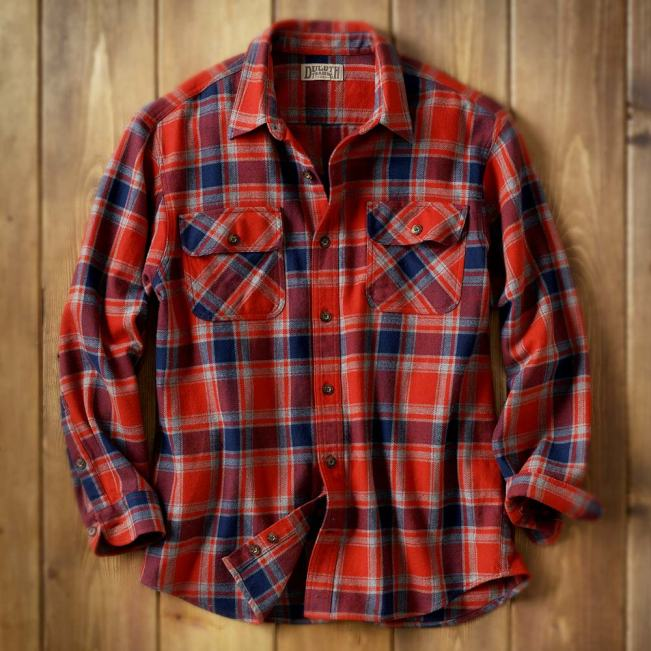 Duluth Trading Company Men's Burlyweight Flannel Shirt #24508