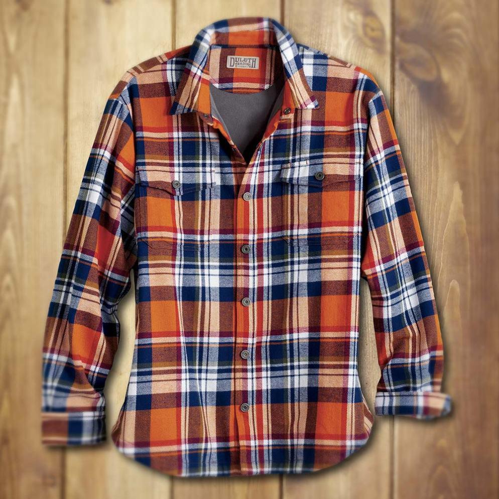 Duluth Trading Company Men's Flapjack Shirt Jac #31501