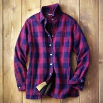 womens flapjack flannel shirt jacket Whack & Hack Like a Limberjack