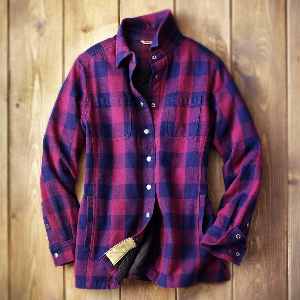 Duluth Trading Company Women's Flapjack Shirt Jac #13500