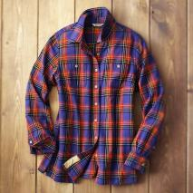 womens free swingin flannel shirt1 Fetching Free Swingin Flannel