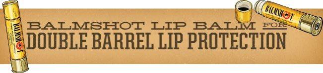 Hilarious (but Useful) Gag Gifts: Balmshot Bullet Shaped Lip Balm