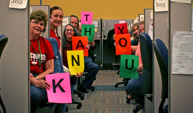 We appreciate all of YOU, the customers that make our job so fun and interesting every single day.