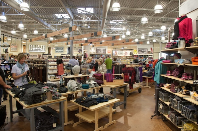 That's 14,000-square feet of Northwoods workwear goodness.