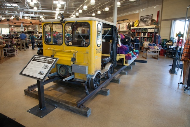 Our Bloomington store features a railroad theme that commemorates the contribution rail transport has made to the history of Minnesota.