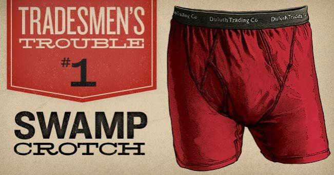 Men's Christmas Gift: Buck Naked Underwear