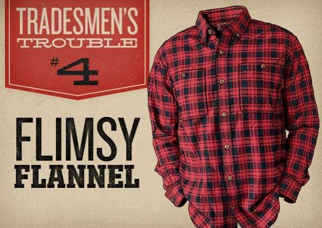 Men's Christmas Gift: Free Swingin' Flannel Shirt