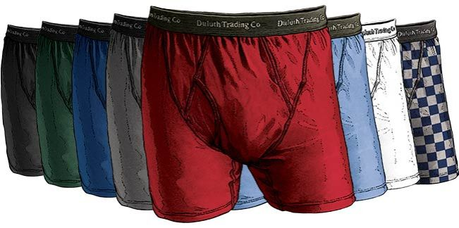 Buck Naked Underwear in 8 Colors - One for Every Day of the Week + Date Night