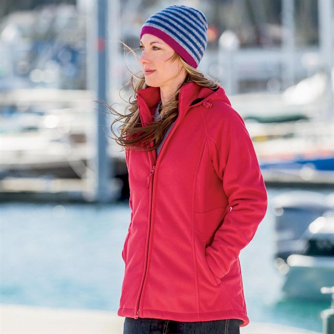 Women's Christmas Gift: Shoreline Fleece Jacket / Coat