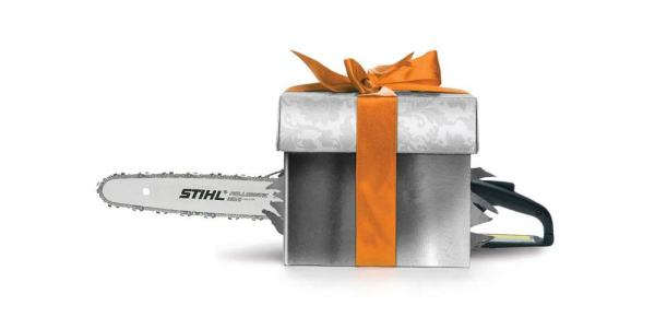 STIHL CHAINSAW Not So Silent Night