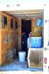 Team Snomad's Mobile Kennel