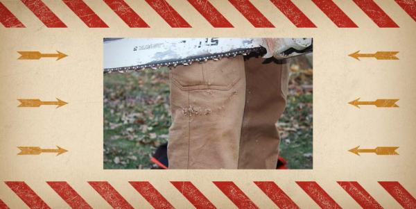Lucky S.O.B. - STIHL Chainsaw vs. Fire Hose Pants - Sean - Feature