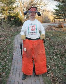 lucky sob stihl chainsaw vs fire hose pants sean #LuckySOB: Chainsaw vs. Fire Hose Pants