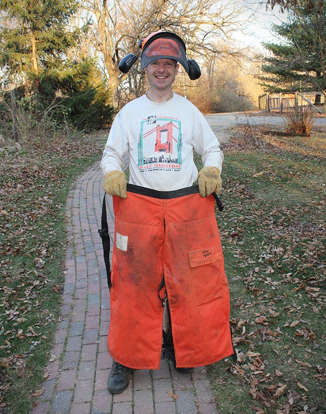 Lucky S.O.B. - STIHL Chainsaw vs. Fire Hose Pants - Sean L.