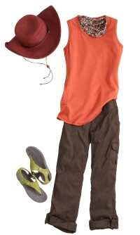 Gardening Clothes: DuluthFlex Dry on the Fly Convertible Pants - No Sweat Longtail T Tank Top