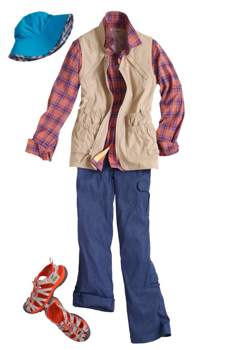 Garden Clothes: DuluthFlex Sidewinder Shirt - Garden Vest - DuluthFlex Dry on the Fly Convertible Pants