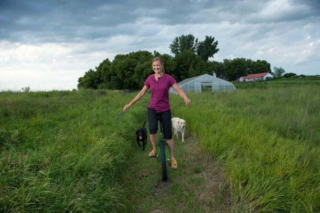2011 Duluth Women Model Search winner Irene is a world champion unicyclist and CSA farmer.