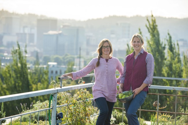 Noble Rot Co-Owners Courtney and Kimberly share a love of wine and appreciation for good farm fresh food. Courtney rolls up the sleeves of her Armachillo Shirt #74515 while Kimberly enjoys the airy comfort our new Artisan Hemp Pullover Tunic #74508.
