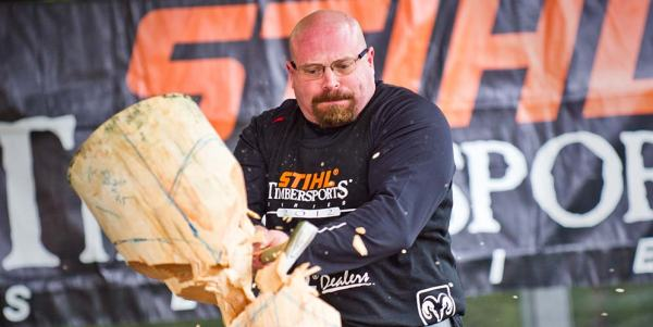 STIHL TIMBERSPORTS athletes prefer DuluthFlex Fire Hose Work Pants