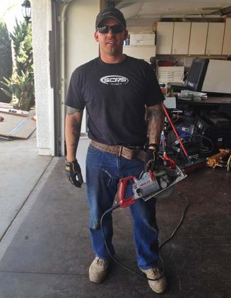 #LuckySOB Matt: Circular Saw vs. Ballroom Jeans