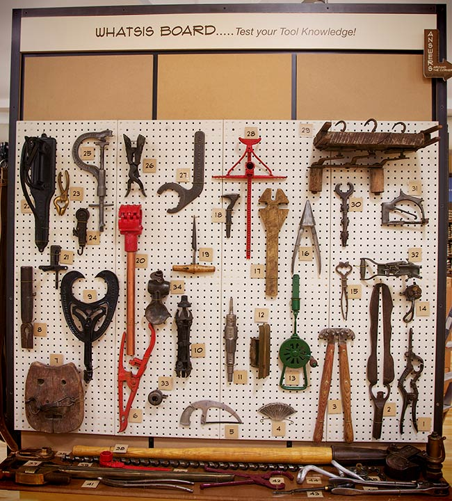 Test Your Tool Knowledge! Whatsis Board of Vintage Tools