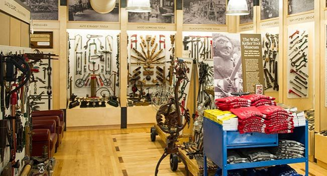 Wally Keller Tool Museum in Mount Horeb Duluth Trading Flagship Store