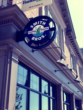 sign filter Grab a cuppa at Smith Bros. Coffee House