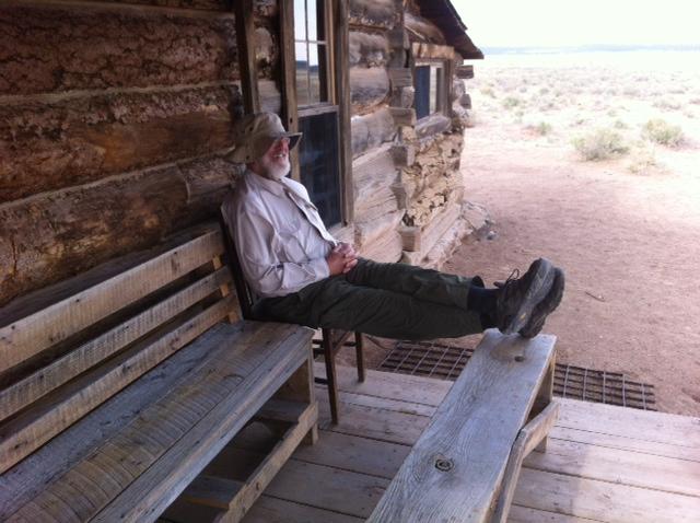 Texas Tradespanel Member Steve Minatra Armachillin' in New Mexico.