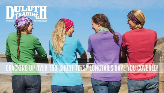 Spring 2013 Longtail T Shirt Cover: We've Got You Covered