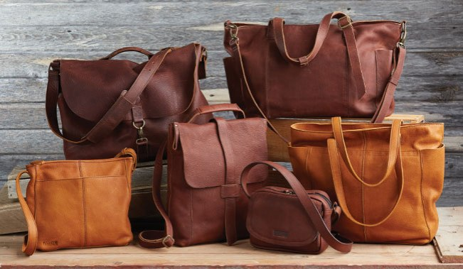 Lifetime Leather Collection: Totes, Bags and Purses