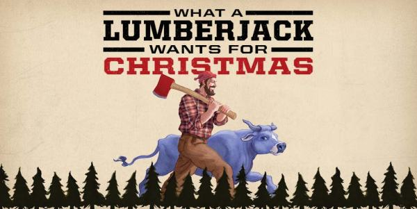What A Lumberjack Wants for Christmas - Gift Ideas for Men