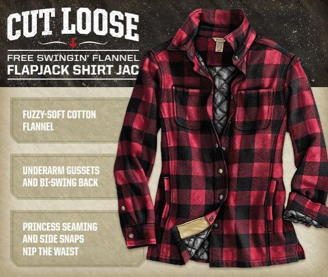 Women's Flapjack® Flannel Shirt Jac Item #13500