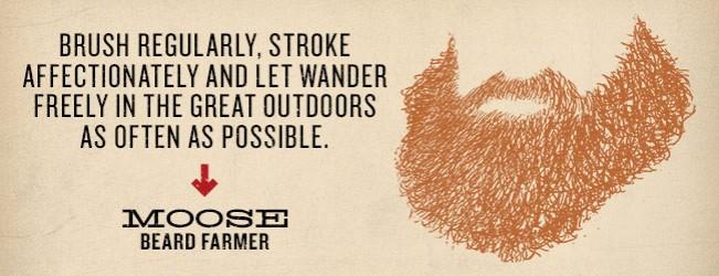 Duke Cannon Beard Farmer Contest Winner: Moose