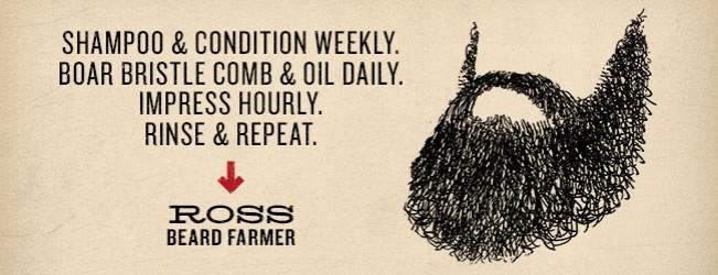 Duke Cannon Beard Farmer Contest Winner: Ross
