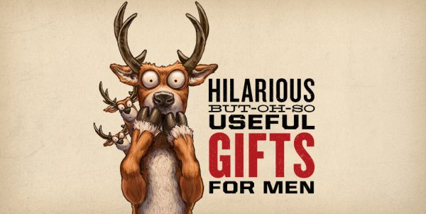 Hilarious-But-Oh-So-Useful Gifts for Men