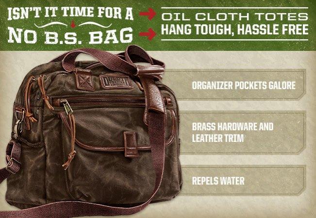 Women's Oil Cloth Tote Bag Item #19600