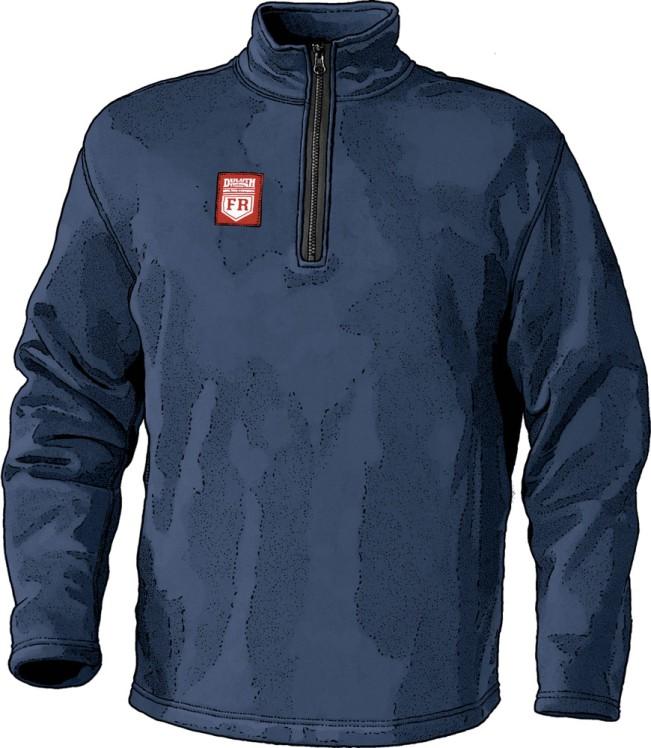Duluth FR Workwear - FR Fleece Quarter Zip Top
