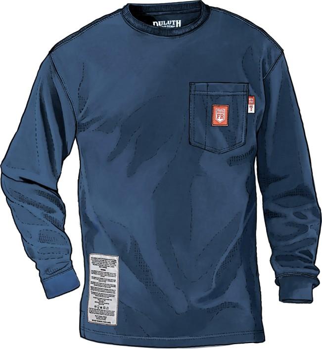 Duluth FR Workwear - FR Shirt LS Longtail T
