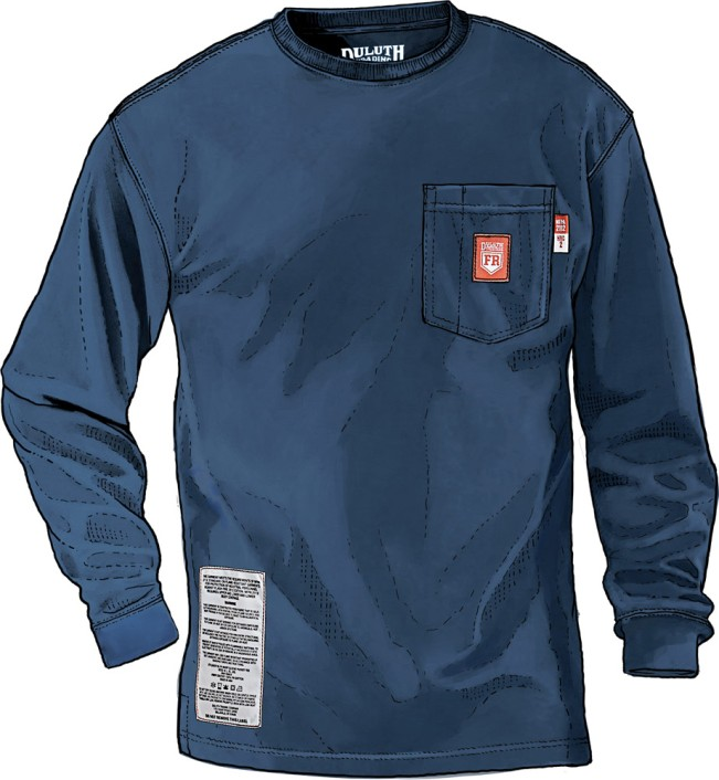 Protect your hide on dangerous jobs whatchamablog for Duluth t shirt commercial