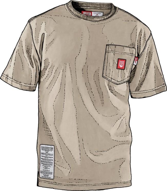 Duluth FR Workwear - FR Shirt - SS Longtail T