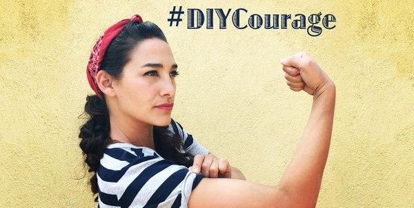 #DIYCourage Sara Bendrick