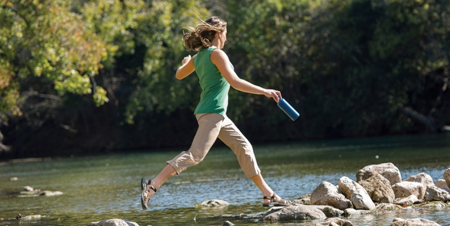 Summer Solved: Dry on the Fly™ Quick Drying Capris
