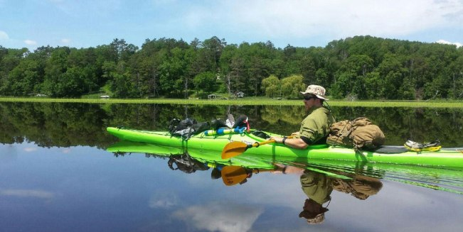 Summer Solving Clothes: Nic Doucette's Kayak Trip Down The Mississippi River