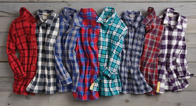 Women's Free Swingin' Flannel Shirts