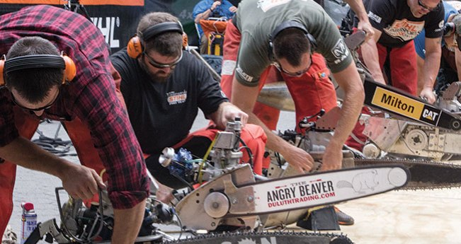 STIHL® TIMBERSPORTS® Adam LaSalle's Hot Saw