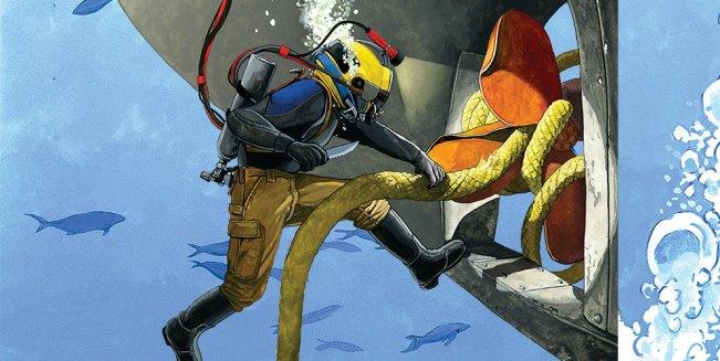 Tony The Diver Buoy Line