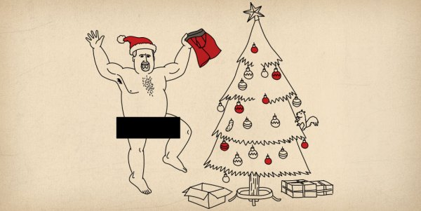 Buck Naked Nation | Skivvy Stats | Christmas Underwear Gifts