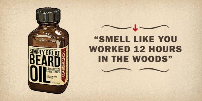 Lumberjack Simply Great Beard Oil