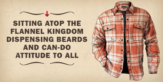 Men's Flapjack® Flannel Shirt Jac