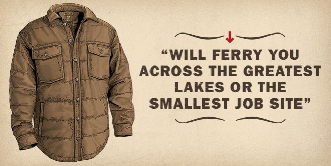 Men's Superior Fire Hose® Quilted Shirt Jac